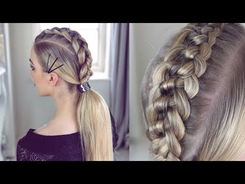 4 strand Knot Braid Ponytail by Sweethearts Hair