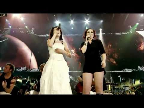 duet - Somewhere featuring Sharon den Adel from Within Temptation and the Gathering's Anneke van Giersbergen with The Metropole Orchestra and the Pa'dam Choir live ...