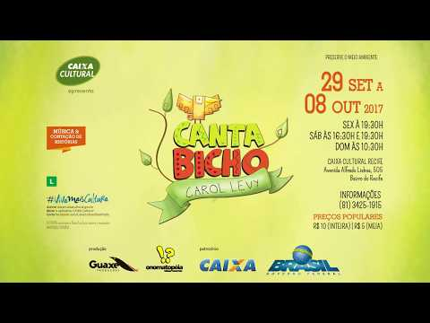 CantaBicho com Carol Levy - CAIXA Cultural Recife