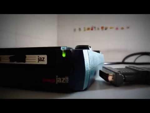 review - lettore jaz iomega v1000s (work)
