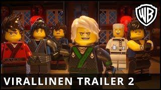 Lego Ninjago Elokuva - virallinen traileri