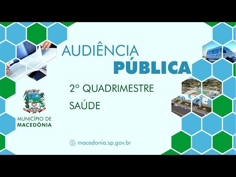 Audiência Pública - 2º Quadrimestre de 2020 - Saúde
