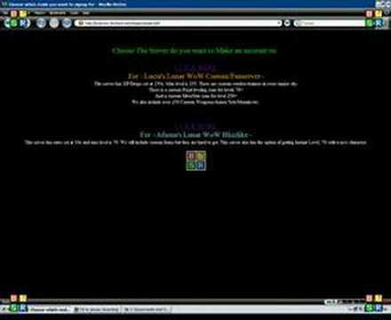 Lunar WoW 2.3.3 Funserver/Blizzlike Realms
