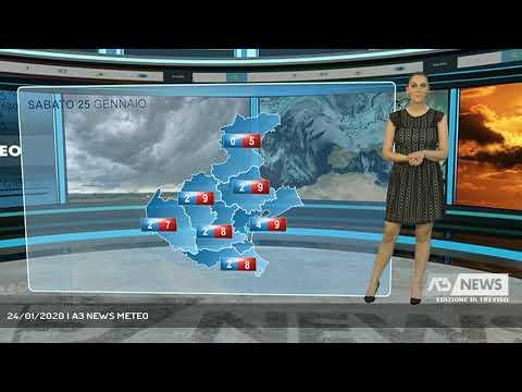 24/01/2020 | A3 NEWS METEO