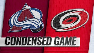 10/20/18 Condensed Game: Avalanche @ Hurricanes by NHL