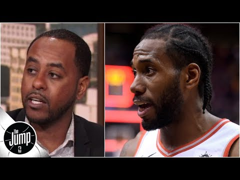 Video: Kawhi Leonard scores 45 points, but the news isn't all good for the Raptors | The Jump