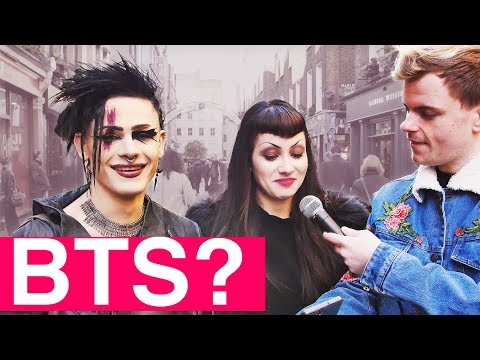 Londoners react to Kpop - Who is your BTS bias?  Niki and Sammy