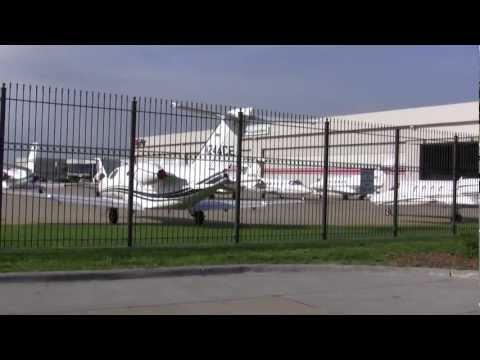 Private Jets Occupy Omaha during 2012 Berkshire Hathaway Shareholders Meeting Video