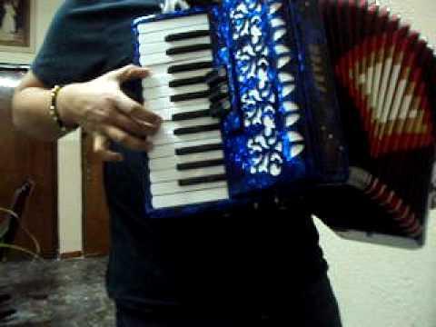 disculpe usted instruccional acordeon de teclas