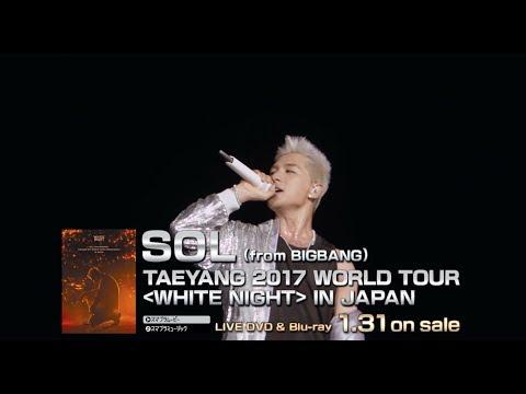 SOL (from BIGBANG) - EYES, NOSE, LIPS (TAEYANG 2017 WORLD TOUR [WHITE NIGHT] IN JAPAN)