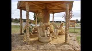 Hochenschwand Germany  city pictures gallery : Strohskulpturen Höchenschwand 2015