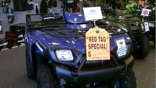 7. Contra Costa Powersports-New 2011 Kawasaki BruteForce 650 4x4 All-Terrain Vehicle V-twin