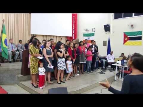 adolescentes da Igreja Evangélica Assembleia de Deus em Coqueiral-Papucaia