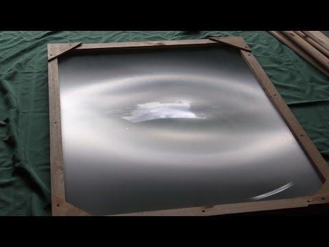 Building a fresnel lens part 1