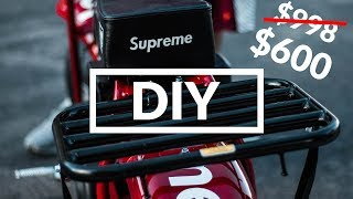 We decided to make our own Supreme Coleman CT200U Mini Bike. The bike is close to the real thing and we spent less than...