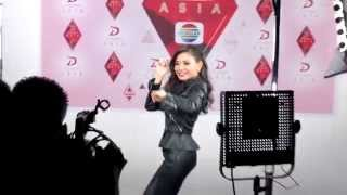 Video GOYANG DUMANG-SHIHA Video Shoot promo D'Academy Asia @ INDOSIAR 12112015 MP3, 3GP, MP4, WEBM, AVI, FLV November 2017