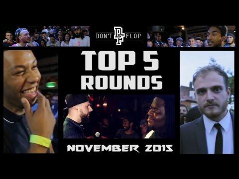 DON'T FLOP: TOP 5 ROUNDS | NOVEMBER 2015 @DontFlop
