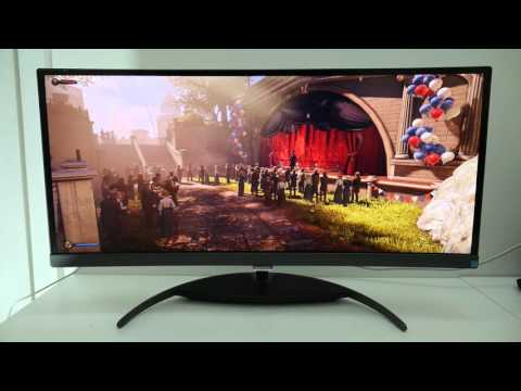 Philips BDM3490UC review - 34in, 21:9 curved monitor
