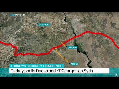 Turska bombardovala položaje Islamske države i Kurda u Siriji