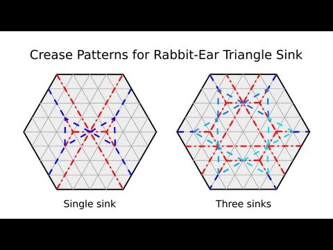 Tip 87-01 - Tessellation Basics: Rabbit-Ear Triangle Sink
