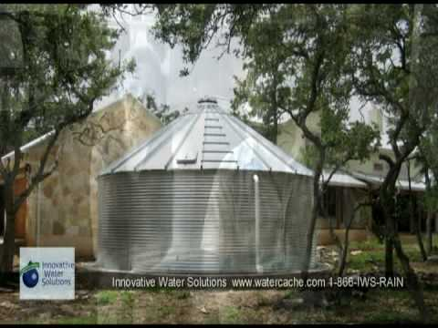Rainwater collection system design and installation services