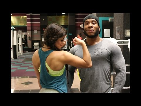 Training Delts & Triceps (feat. Sandra)