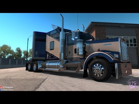 Skin Pack Transport for kenworth w900 1.35.x