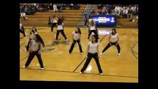 Danbury High School Cheer Hip Hop Dance 2016