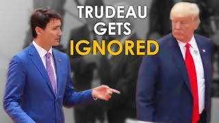 Video Justin Trudeau Gets IGNORED By Trump at The G20 Summit (What He SHOULD Have Done) MP3, 3GP, MP4, WEBM, AVI, FLV Desember 2018