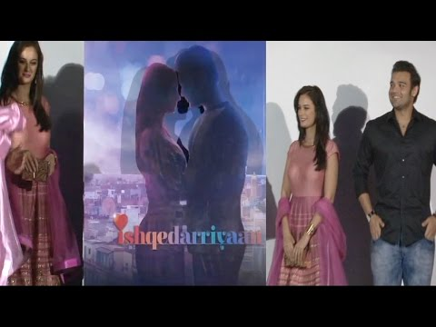 Poster Launch Of Film Ishqedarriyaan With Evelyn Sharma