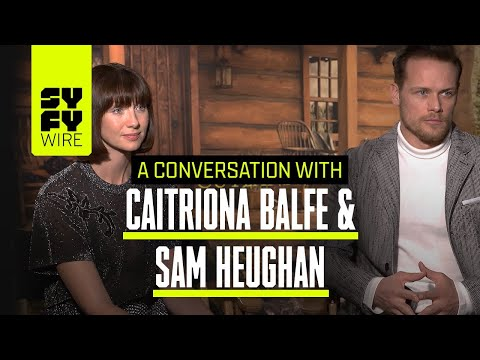 Outlander's Claire & Jamie Talk Season 4, Episode 2   SYFY WIRE