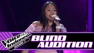 Video Florence - Jangan Gila | Blind Auditions | The Voice Kids Indonesia Season 3 GTV 2018 MP3, 3GP, MP4, WEBM, AVI, FLV September 2018
