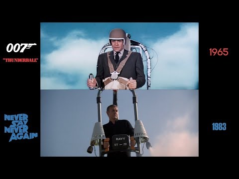 Thunderball (1965) / Never Say Never Again (1983): side-by-side comparison