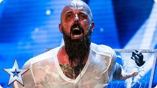 Download Video Matt Johnson has Judges holding their breath IN FEAR! | Auditions Week 1 | Britain's Got Talent 2018 MP3 3GP MP4