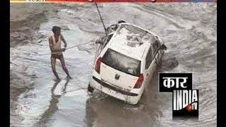 Yamunanagar India  city pictures gallery : Car falls into canal near Yamuna Nagar