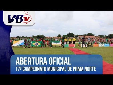 VBTv | Começa o 17º Campeonato Municipal de Futebol de Praia Norte