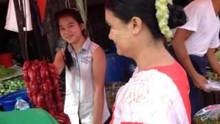 Myeik Myanmar  city photos : สำรวจตลาดเช้า myeik Myanmar เจอสาวพม่าพูดไทยได้ น่ารั