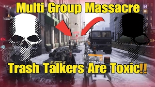 Hey guys, I'm back with another video this time it's a highlight of some multi group dismantling and shutting down some toxic trash talkers. Hope you guys en...