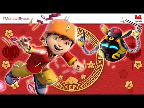 HUAT AH!! - BoBoiBoy Galaxy Chinese New Year 2019 新年快乐! - Thời lượng: 58 giây.