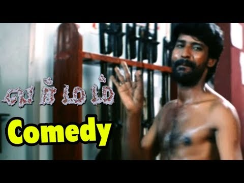 Varmam Tamil movie scenes | Akhil slaps Anaka | Anaka gets irritated | soori best comedy