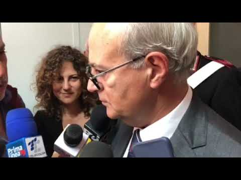 Arresto dell'ex deputato Nicotra: le parole del Procuratore