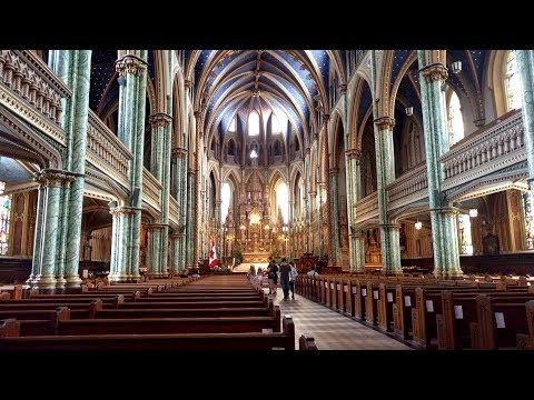 Visiting the Notre-Dame Cathedral Basilica in Ottawa, Canada