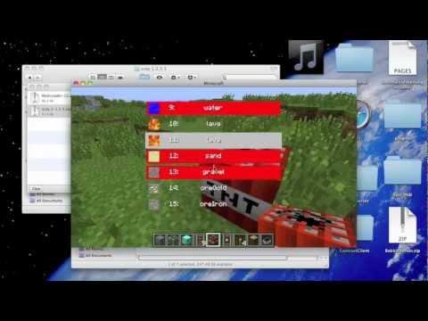 How To Install Minecraft X-ray Mod 1.6+ [Mac]