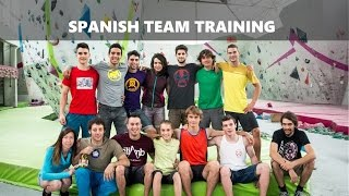 Spanish Bouldering Team Training Camp by OnBouldering