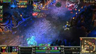 (HD 06) 5c5 cho gath part 4 - League Of Legend replays [FR] -