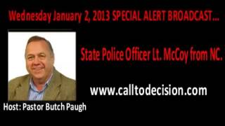 UPDATE!! 1/02/2013 North Carolina Police Lieutenant Warns Of Plans For Martial Law