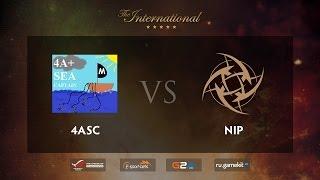 NIP vs 4Anchors, game 1