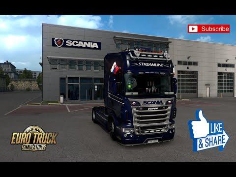 Scania R & Streamline Modifications v2.3.0 1.39.x
