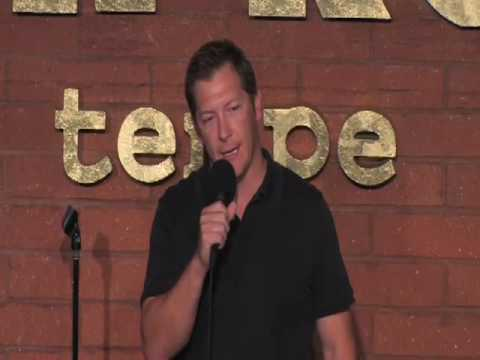 Comedian Scott Henry at The Tempe Improv (Only plays in HQ Mode)