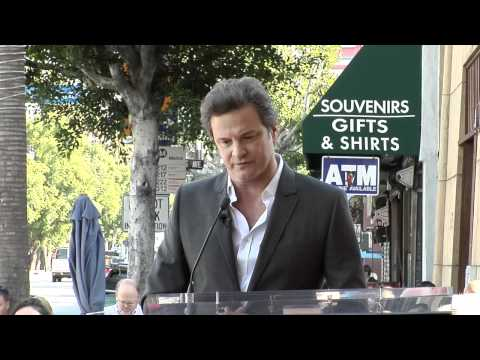 Colin Firth Walk of Fame Ceremony